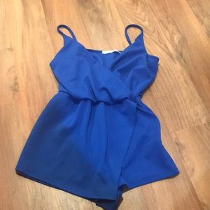 Urban outfitters blue romper